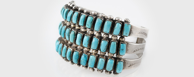 Turquoise Ring Indian Made Al